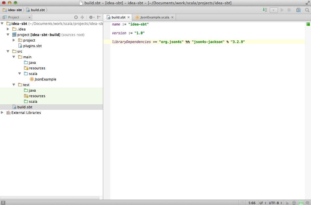 ScalaをSBTやIDEで使ってみる   常式論
